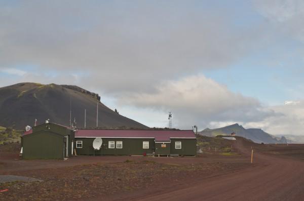 """""""Metten"""", meteorologisk stasjon.  Her jobber jeg."""