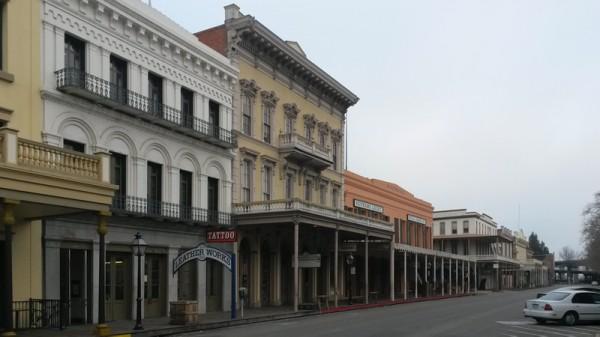 Gamlebyen i Sacramento